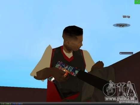 Graffiti Gun Pack pour GTA San Andreas deuxième écran