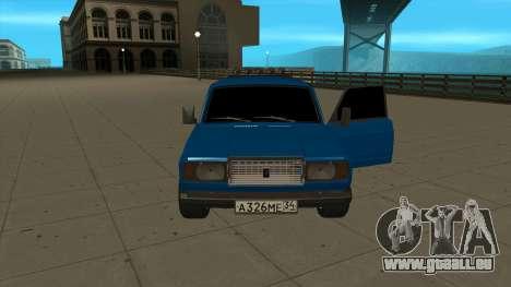 VAZ 2107 Ford pour GTA San Andreas vue de droite