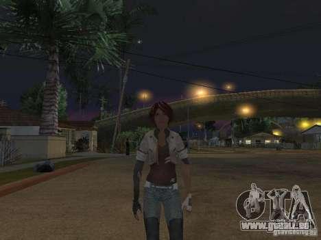 Remember Me Nilin für GTA San Andreas zweiten Screenshot