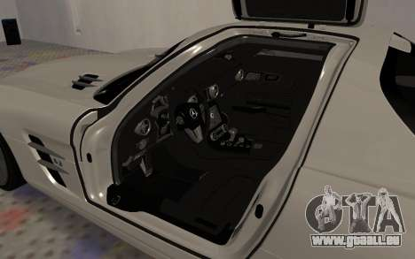 Mercedes-Benz SLS AMG 2010 für GTA San Andreas Seitenansicht