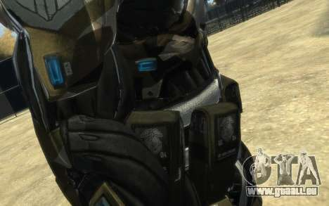 Crysis 3 The Hunter skin für GTA 4 achten Screenshot