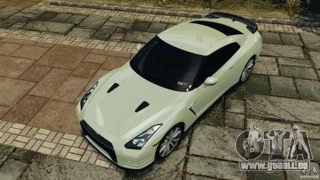 Nissan GT-R 2012 Black Edition pour GTA 4