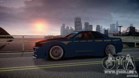 Nissan BNR-34 GT-R für GTA 4 Innenansicht