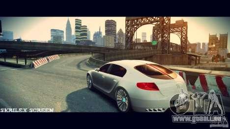 Bugatti Galibier 16C (Bug fix) pour GTA 4 est un droit
