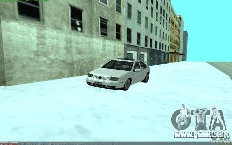 Volkswagen Bora 1.8 pour GTA San Andreas vue de droite