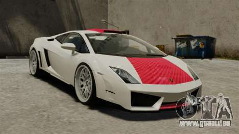 Lamborghini Gallardo Victory II 2010 HAMANN pour GTA 4