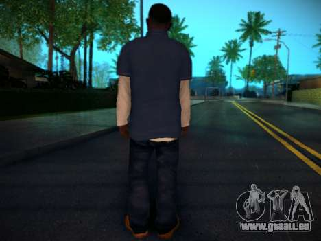 Franklin für GTA San Andreas her Screenshot
