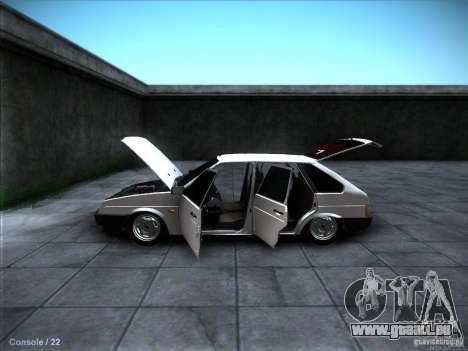 VAZ 2109 Rostow für GTA San Andreas Innen