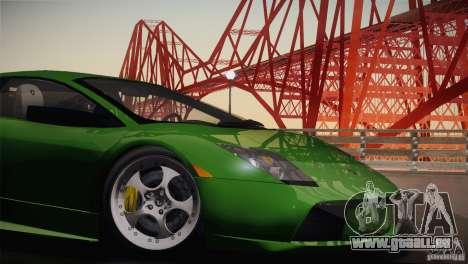 Lamborghini Murcielago 2002 v 1.0 für GTA San Andreas Rückansicht