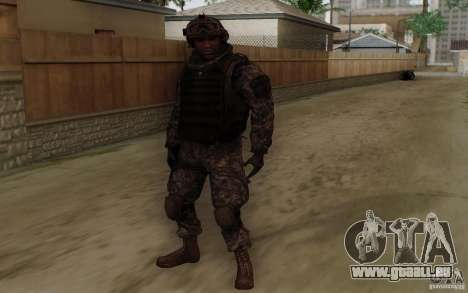 Le sergent Foley de CoD : MW2 pour GTA San Andreas
