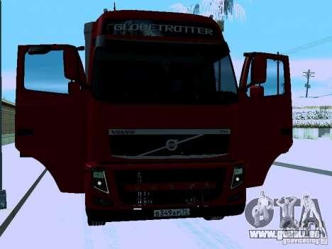 Volvo FH13 für GTA San Andreas Seitenansicht