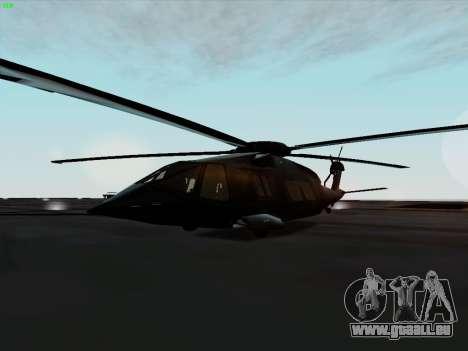 MH-X Stealthhawk für GTA San Andreas