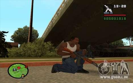 AKM für GTA San Andreas zweiten Screenshot