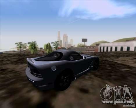 Dodge Viper SRT-10 Coupe für GTA San Andreas zurück linke Ansicht