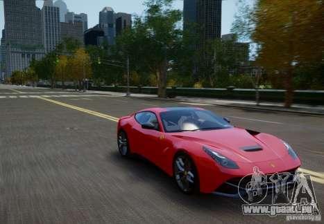 Ferrari F12 Berlinetta 2013 pour GTA 4 est un droit