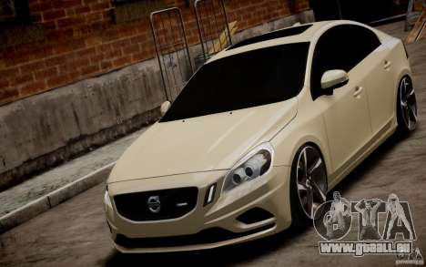 Volvo S60 R-Design 2011 für GTA 4 rechte Ansicht