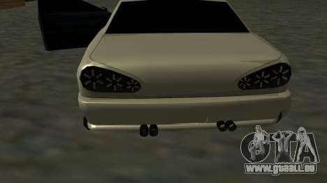 Elegy Roportuance pour GTA San Andreas vue de côté