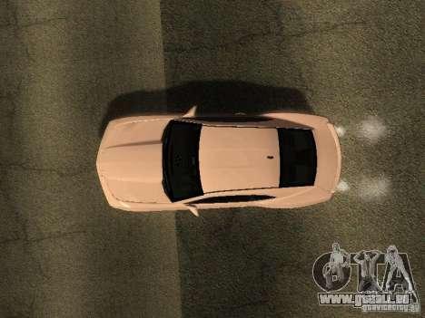 Chevrolet Camaro SS 2010 pour GTA San Andreas vue arrière