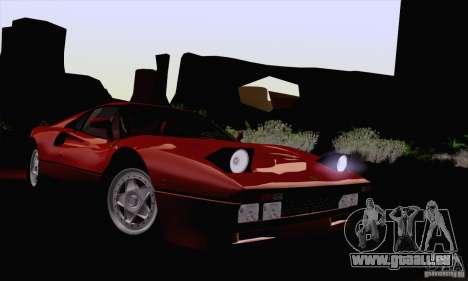Ferrari 288 GTO 1984 für GTA San Andreas Rückansicht