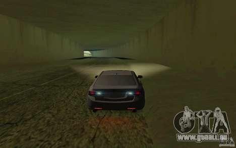 Honda Accord für GTA San Andreas Innenansicht