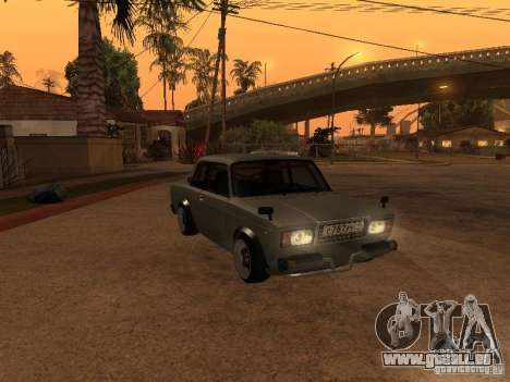 VAZ 2107 coupé pour GTA San Andreas