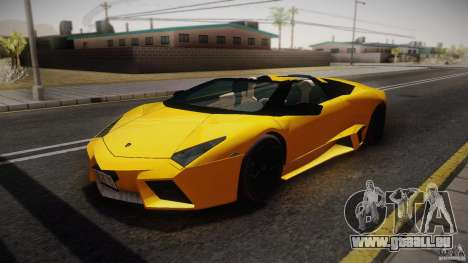 Lamborghini Reventón Roadster 2009 pour GTA San Andreas