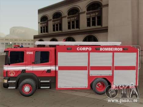Scania 94D-260 Corpo Bombeiros SP pour GTA San Andreas vue de dessous