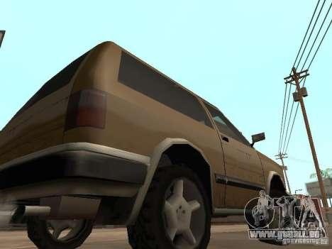 Landstalker nouveau pour GTA San Andreas vue arrière