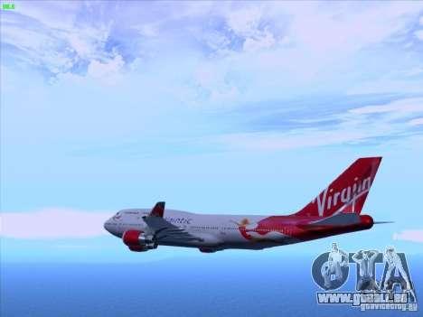Boeing 747-4Q8 Lady Penelope pour GTA San Andreas laissé vue