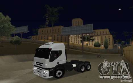 Iveco Stralis Double Trailers für GTA San Andreas linke Ansicht