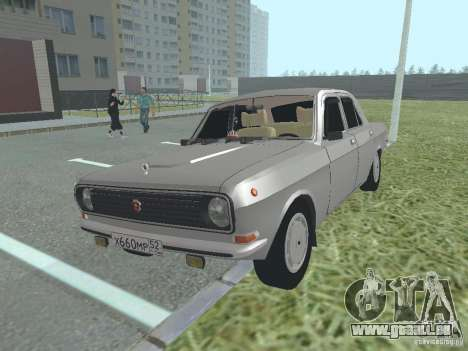 Volga GAZ 24-10 für GTA San Andreas Innenansicht
