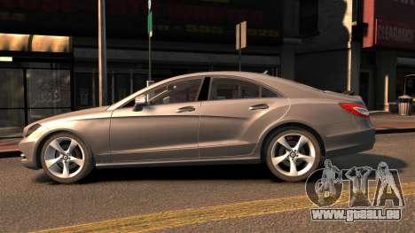Mercedes-Benz DK CLS350 pour GTA 4 est une gauche