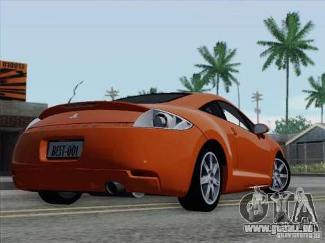 Mitsubishi Eclipse GT V6 pour GTA San Andreas roue