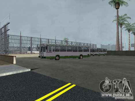 4-th Bus v1. 0 für GTA San Andreas fünften Screenshot
