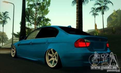 BMW M3 E90 für GTA San Andreas rechten Ansicht
