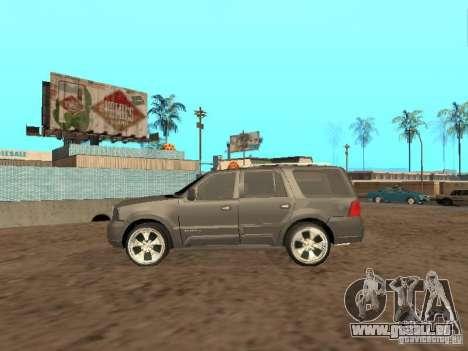 Lincoln Navigator 2004 pour GTA San Andreas vue arrière