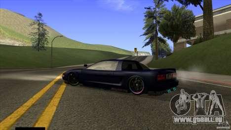 Infernus v3 by ZveR pour GTA San Andreas laissé vue