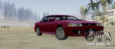 Sultan SRX für GTA San Andreas Seitenansicht
