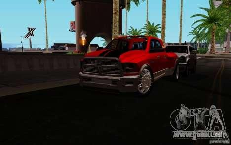 Dodge Ram 3500 Tuning für GTA San Andreas linke Ansicht
