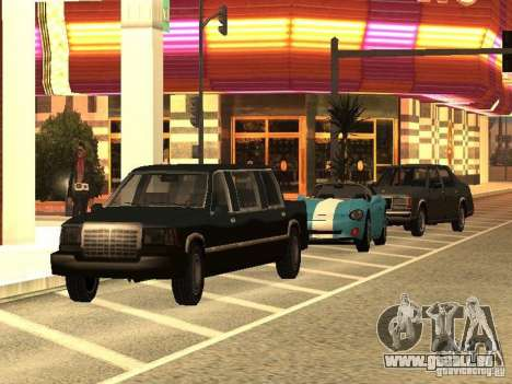 Club pour GTA San Andreas deuxième écran