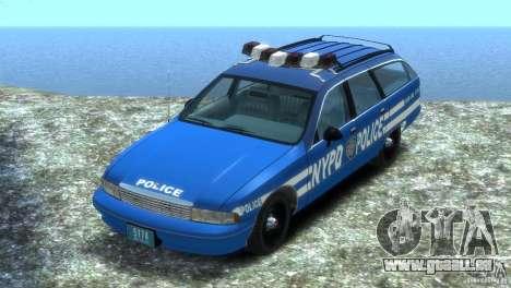 Chevrolet Caprice Police Station Wagon 1992 für GTA 4