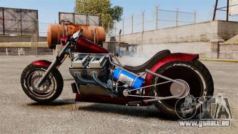 Dragbike Street Racer für GTA 4 linke Ansicht