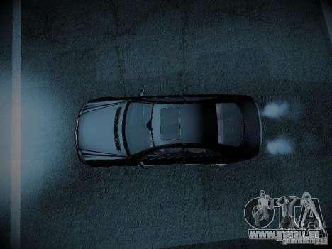 Mercedes-Benz CLK 55 AMG Coupe für GTA San Andreas Rückansicht