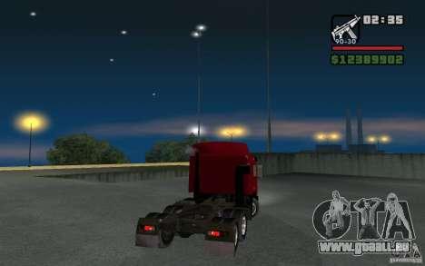 MAZ-643068 für GTA San Andreas linke Ansicht