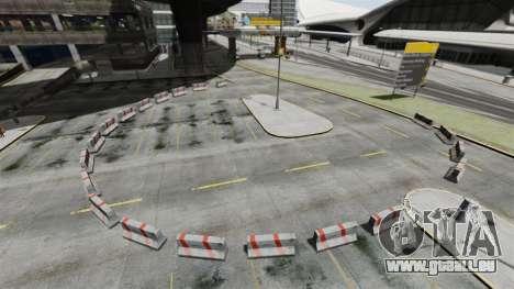 Dérive-piste à l'aéroport pour GTA 4 secondes d'écran
