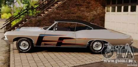 Chevrolet Impala 427 SS 1967 für GTA 4 linke Ansicht