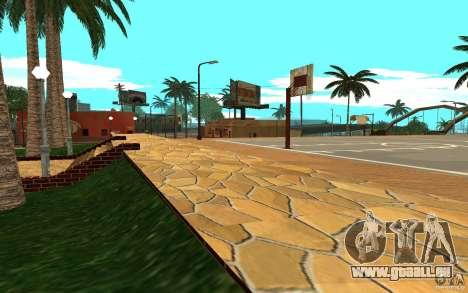 Neue Texturen-Basketballplatz für GTA San Andreas