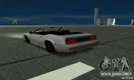 Buffalo Cabrio für GTA San Andreas linke Ansicht