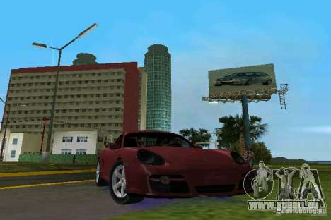 Porsche Cayman pour GTA Vice City