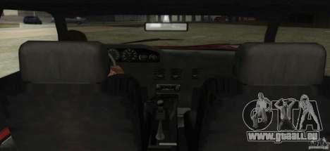 Sultan SRX für GTA San Andreas rechten Ansicht
